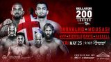 Watch Bellator 200: Carvalho vs. Mousasi 5/25/18 Full Show Online Free 25th May 2018