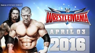 Watch WWE Wrestlemania 32 2016 PPV HD Replay Full Show Free Online
