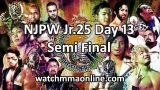 Watch NJPW Best Of The Super Jr 25 Day 13 Semi Final 6/3/2018 Full Show Online Free 3rd June 2018